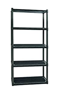 Plano Molding 9524 Heavy Duty Shelving with Vents