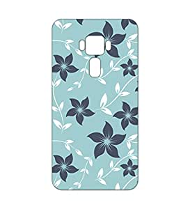 Happoz ASUS Zenfone 3 (ZE520KL) 5.2 inches Cases Back Cover Mobile Pouches Patterns Floral Flowers Premium Printed Designer Cartoon Girl 3D Funky Shell Hard Plastic Graphic Armour Fancy Slim Graffiti Imported Cute Colurful Stylish Boys Z049