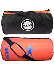 KVG Combo Gym Bag Pack Of 2 - B01LNV15OO