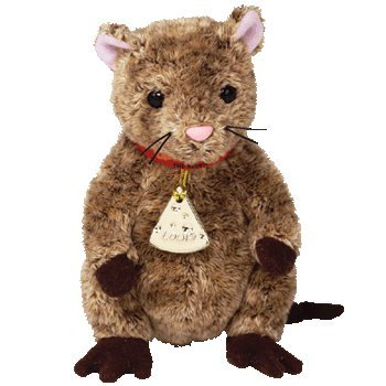 Ty Beanie Babies - Louis the Mouse (Garfield the Movie Beanie)