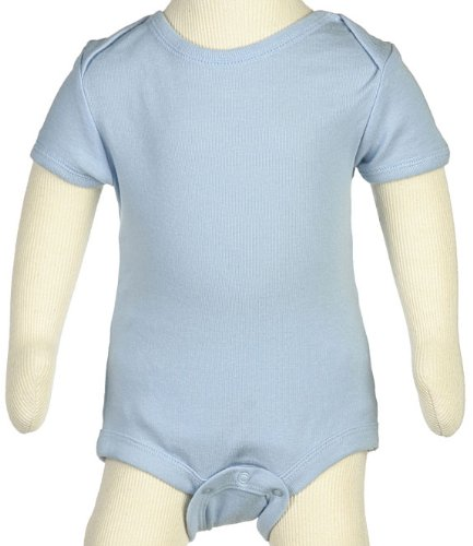 Baby Jayl Underwear Infant, Toddler Onesie - Round Envelope Neck - Short Sleeve (24-36 Months, Blue)