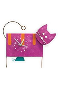 Oxidos Recycled Fair Trade Cat Clock