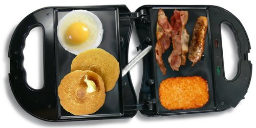Power Hunt 12 Volt Griddle: Appliance Only - High Performance 400°F Cooking Temp (Power Port Pnp-120 Is Required)
