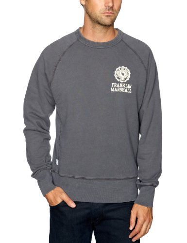 Franklin & Marshall FLMC042W12 Men's Jumper Dirty Grey X-Large