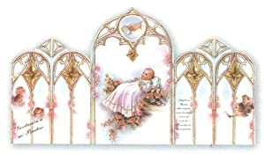 "Amazon.com: 100 Baptism Invitations in Spanish - Baby Girl, 3.5"" x 5.5"