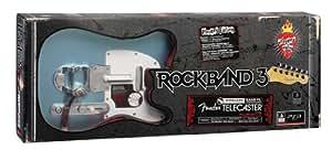 Guitare Fender Telecaster Rock Band 3 sans fil -  Bleu clair (version EU)