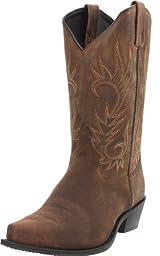 Laredo Men\'s Willow Creek Boot,Tan Crazyhorse,13 3E XW US