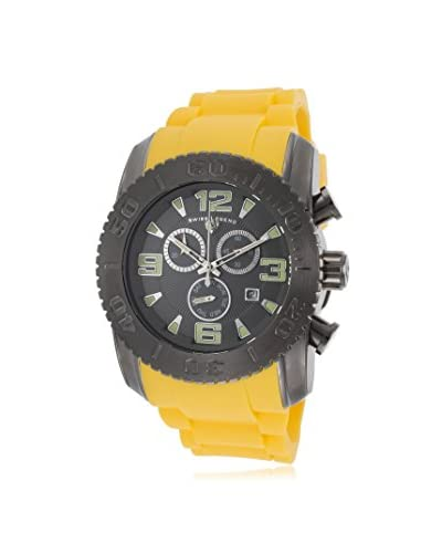 Swiss Legend Men's 10067-GM-014-YLS Commander Analog Display Swiss Quartz Yellow Watch