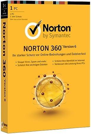 Norton 360 6.0 - 1 PC