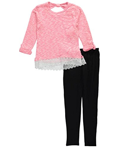 kensie-girls-big-girls-sweater-with-lace-trim-hem-and-legging-neon-coral-10
