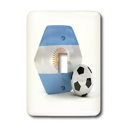 Lsp_181889_1 Carsten Reisinger - Illustrations - Argentina Soccer Ball - Light Switch Covers - Single Toggle Switch
