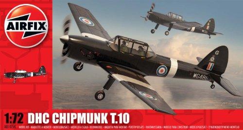 Airfix 1:72 De Havilland Dhc Chipmunk T 10 (A01054) front-1006161