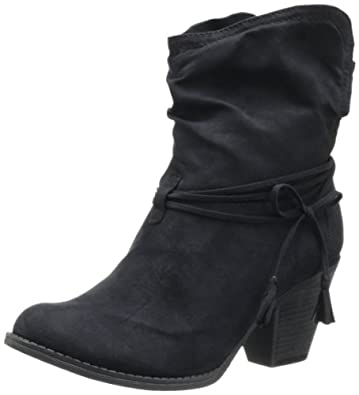 MIA 2 Women's Boho Boot,Black,6 M US