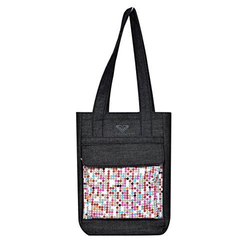 Roxy Universal a pois borsa per la spesa per 25,4 cm compresse - Nero