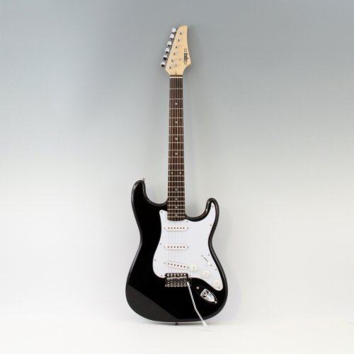 Legacy Solid Body Electric Guitar, Black