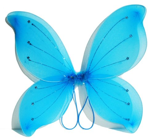 "16""x18"" Fairy Wings Butterfly Costume - Turquoise"