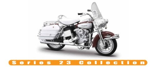 COLLECTOR EDITION HARLEY DAVIDSON 1:18 SCALE MOTORCYCLE 1953 74FL HYDRA CLIDE