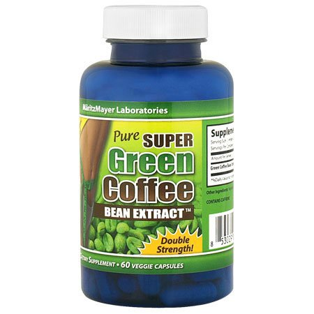 Maritzmayer Pure Super Green Coffee Bean Extract Weight Loss Diet Pills 60 Capsules