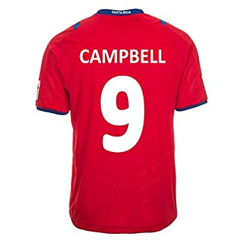 Buy Lotto Campbell #9 Costa Rica Home Jersey World Cup 2014 by Lotto