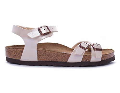 BIRKENSTOCK Kumba 06183 graceful pearl white sandalo donna (37 EU)