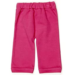 Kate Quinn Organic Straight Leg Pants, Pink Essentials, 6-12M (Carnation)