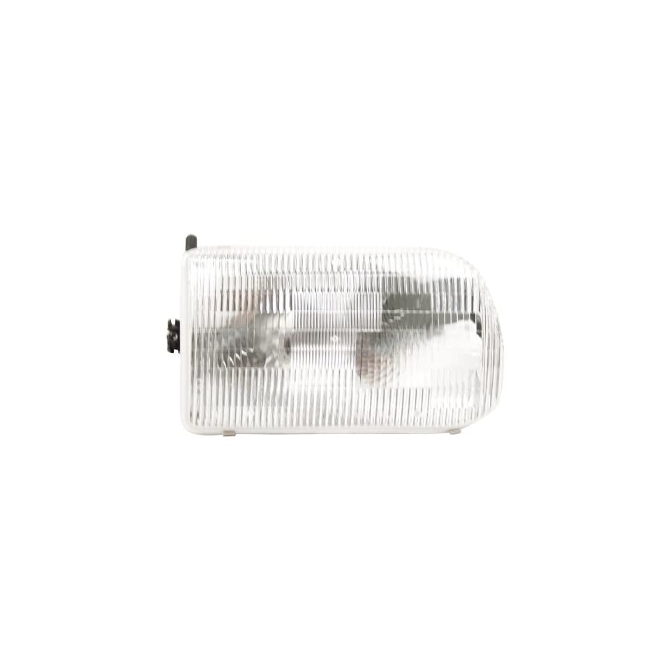 OE Replacement Mazda Pickup Passenger Side Headlight Assembly Composite (Partslink Number MA2503110)