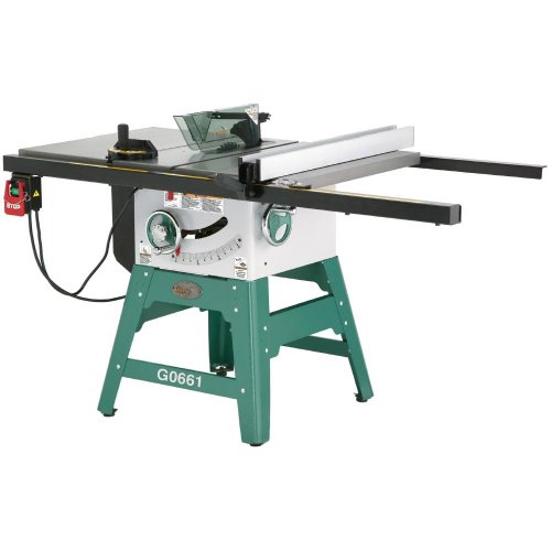 Grizzly g0661 10 2 hp contractor style table saw with for 10 table saws