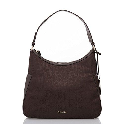 calvin-klein-womens-handbag-nina-logo-hobo-brown