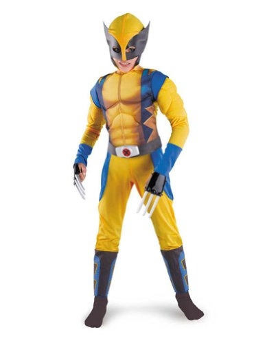 Wolverine Classic Muscle 4-6 Kids Boys Costume