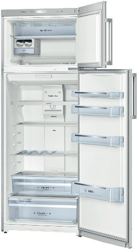 Bosch KDN46VL20 Libera installazione 297L 78L A+ Cromo frigorifero con congelatore