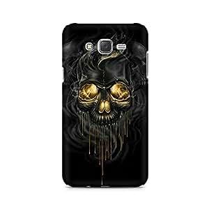 Mobicture Skull Premium Printed Case For Samsung J7