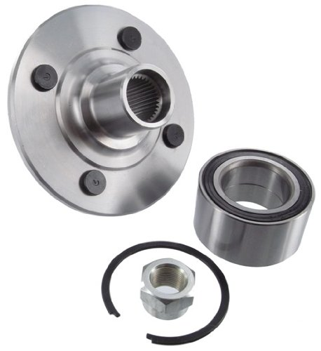 Saturn Sc1 2000 2002 Replace 2s34 Remanufactured Complete: Bearings: New Front Wheel Bearing Hub Assembly, 1994-2002