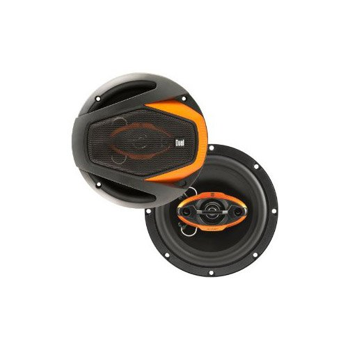 Dual Dls6540 6.5-Inch 4-Way 125W Peak Speakers - Set Of 2