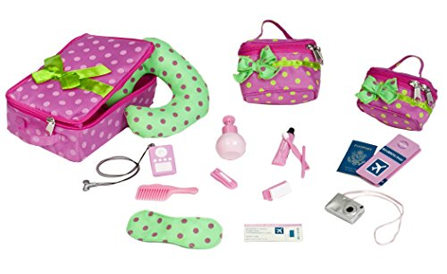 Our Generation Luggage and Travel Set for 18 Inch Dolls (Our Generation Items compare prices)