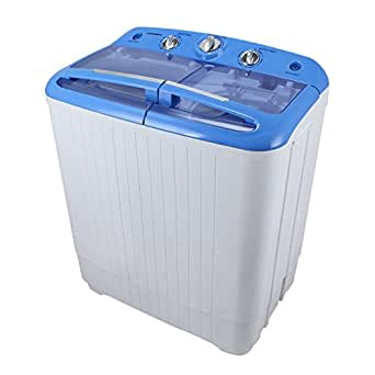 arksen portable mini small washing machine spin dryer laundry 11lbs white appliances. Black Bedroom Furniture Sets. Home Design Ideas