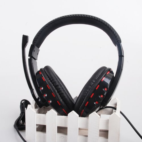 Wantmall Wired Stereo Gamer Headset Mic Sound For Sony Playstation 3 Ps3