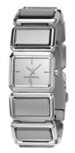 Diesel DZ5157 Ladies Digital Silver Stainless Steel Bracelet Watch