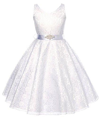 DressForLess-Lovely-Lace-V-Neck-Flower-Girl-Dress