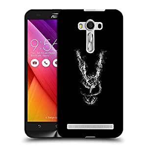 Snoogg Abstract Face Designer Protective Back Case Cover For ASUS ZENFONE SELFIE