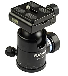 Fotopro Professional Ball Head - Payload - 12 kg.