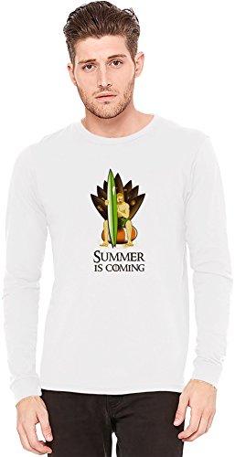 Summer Is Coming A maniche lunghe T-shirt Long-Sleeve T-shirt   100% Preshrunk Jersey Cotton XX-Large