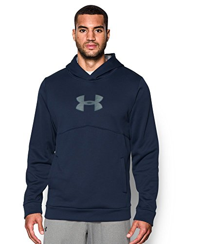 Under Armour Men's Storm Icon Logo Hoodie, Midnight Navy (410), Small