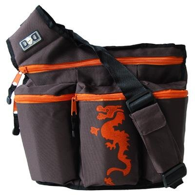 Diaper Dude Dragon Diaper Bag - Brown