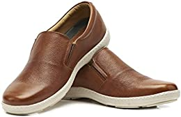 Brent Shoes Mens Breeze Leather Casuals