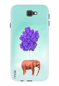 Noise Designer Printed Case / Cover for Samsung Galaxy J7 Prime / Patterns & Ethnic / Elephant Design
