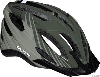 Lazer Vandal Helmet with Visor: Khaki Green (BLU2005664881)