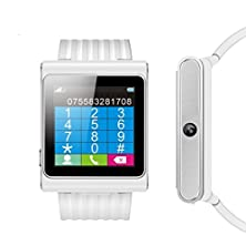 buy Smartwatch Phone,Watch Phone,An Independent Mini Mobile Phone +Fm Radio +Pedometer Function(White)