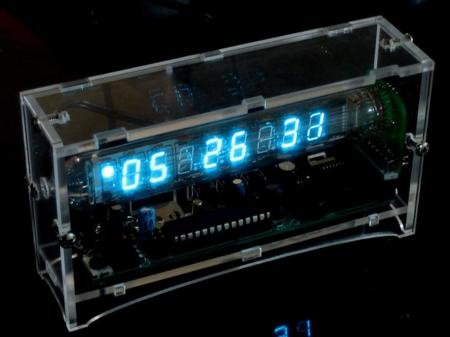 Ice Tube Clock Kit V1.1