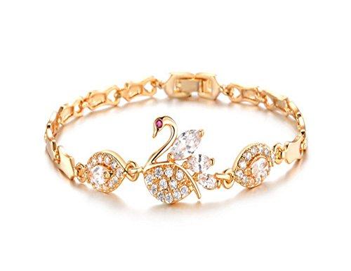 mr-rabbit-fashion-jewely-diamante-21k-planted-lucky-braceletsleaves-heart-swan-sun-coin