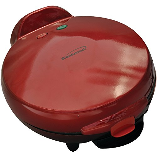 Brentwood Ts-120 Quesadilla Maker, Red front-382398